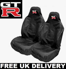 GTR Sport Bucket Car Seat Covers Protectors x2 / Heavy Waterproof - NISSAN GTR