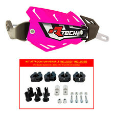 PARAMANI RACETECH FLX ALU ROSA NEON + KIT MONTAGGIO (Handguards + Fitting Kit)