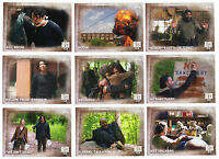 2016 Topps Walking Dead Season 5 - 100 Trading Card Base Set + Empty Box + Wrap