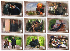 2016 Topps Walking Dead Season 5 - 100 Trading Card Base Set + Empty Box + Wrap