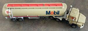Majorette série 3000 camion Scania citerne Mobil, 1/60