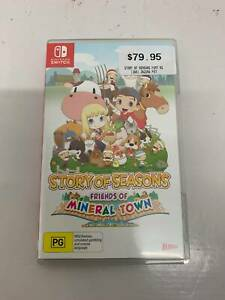 Story of Seasons: Friends of Mineral Town Nintendo Switch Game