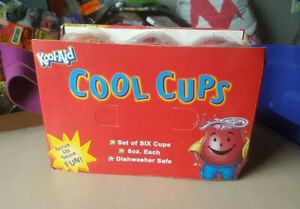 New 6 Kool Aid Cool Cups Bradshaw
