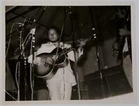"""Bob Dylan Photo Vintage 8.5"""" x 6.5"""" B/W Circa 1965"""