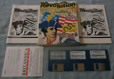Revolution '76 1989 Apple IIGS Computer Britannica Software Video Game COMPLETE!