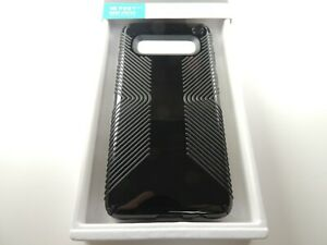 Speck Samsung Presidio Glossy Grip Case 124598-7715 Galaxy S10 - Black