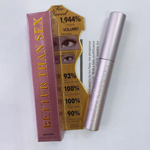 TOO FACED Better Than Sex Mascara Waterproof Full Size Black free delivery