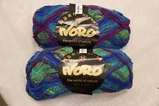 Lot of 2 NORO Kureyon sock yarn 100 grams 70/30 wool nylon multi color Lot # B
