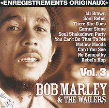 CD 12T BOB MARLEY ET THE WAILERS VOL.3 BEST OF 2005 TBE