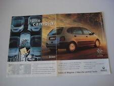 advertising Pubblicità 1997 RENAULT MEGANE SCENIC