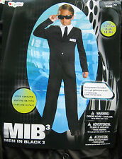MEN IN BLACK 3 Boy  Costume sz 4-6 NEW