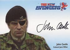 "The New Avengers - N-A7 John Castle ""Col. Jack Miller"" Autograph Card"
