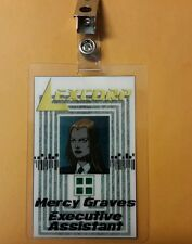 Smallville/Superman Id Badge-Mercy Graves Executive Graves  prop costume cosplay