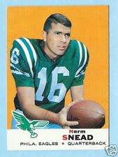 1969 69 TOPPS NORM SNEAD CARD - EAGLES