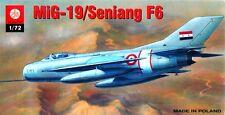 MiG 19 S FARMER/SHENYANG F 6 (SYRISCHEN, PAKISTANI & CHINESISCHE) 1/72 PLASTYK