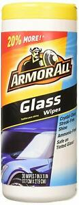 Armor All 10865 Glass Cleaner Wipes, 30 Count