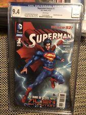 Superman Annual #1 the new 52 D.C. Comics Graded CGC 9.4