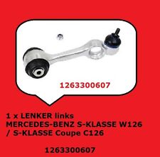 1 x LENKER links MERCEDES-BENZ S-KLASSE W126 / S-KLASSE Coupe C126 1263300607