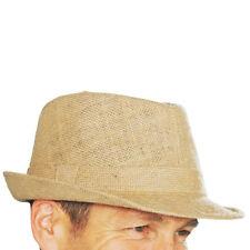 Accessoires chapeaux mous en paille pour homme