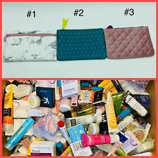 Ipsy Makeup Bags Lot Filled 5 Pieces In Each Bag of 2 Your Choice of Bags #1 2 3