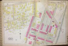1888 Jamaica Plain Boston Ma Burton Brewery Bromley Park Heath St Station Atlas