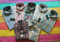 Viyella Casual S/Sleeve Shirt, All Sizes, Cotton, BNWT, Lowest Price