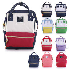 Fashion Japan Anello Lady Backpack Rucksack Canvas School Bag Campus Small Size