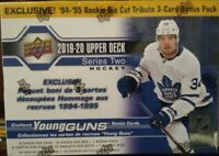 🔥🔥 2019/20 Upper Deck Series 2 Hockey EXCLUSIVE! 10 Packs + 1 bonus pack 🔥🔥