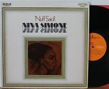 "Nina Simone LP ""Nuff Said"" ~ RCA 4065 ~ VG+ Soul Jazz"