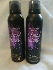 TWO Victoria's Secret Cloud Wash Foaming Gel Cleanser LOVE SPELL fragrance NEW