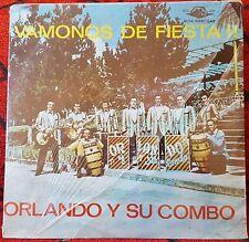Salsa Guaguanco ORLANDO Y SU COMBO **Vamonos De Fiesta** LP Venezuela SEALED!