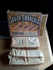Savon Francais 4 Seifen in Originalverpackung Dachbodenfund Sammler Rarität