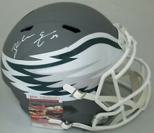 Eagles ZACH ERTZ Signed Full Size Riddell Replica AMP Speed Helmet AUTO - JSA