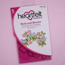 Heartfelt Creations Cut&Emboss Dies by Spellbinders ~ Birds & Blooms, HCD1-756