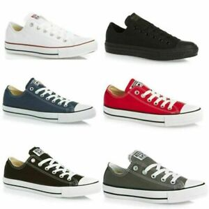 Converse All Star WOMENS & MENS Chuck Taylor OX Canvas Trainers Shoes All size o