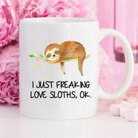 Sloth Mug, Sloth, Sloth Coffee Mug, Sloth Gift, Coffee Mug, Funny Mug, Mug