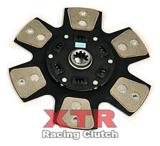 XTR STAGE 3 COPPER CERAMIC 6-PUCK CLUTCH DISC 86-01 FORD MUSTANG 4.6L 5.0L V8