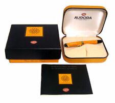 Aurora Sole Mini Limited Edition Rollerball Ballpoint Pen 097M Orange