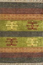 Indian designer Floor Mat Door Mats Viscose Kitchen Rug Welcome Rugs 60 X 90 CM