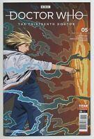 DOCTOR WHO: THE THIRTEENTH DOCTOR #5 TITAN comics NM 2019 Jody Houser