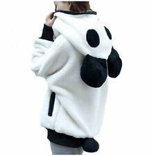 Kawaii Clothing Harajuku Ears Panda Jacket Sweatshirt Hoodie Bear White Ulzzang