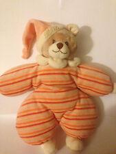 "Barbara bukowski design 11"" teddy bear clown peluche doux consolateur jouet-ex cond"