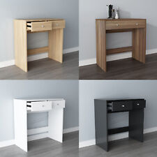 WestWood Wooden Makeup Jewelry Dressing Table Desk With 2 Drawers Bedroom DT08