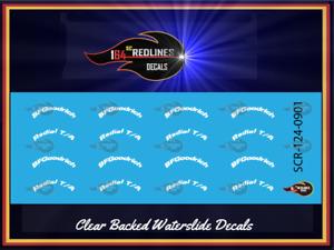 1/24 BF Goodrich Tire Logos Decal SCR-124-0901