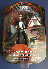 PLAYMATES LARA CROFT TOMB RAIDER nel ciclo MOTORE GEAR Action Figure