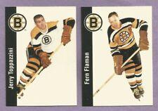 1993-94 Parkhurst Missing Link Boston Bruins Team Set
