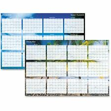 "At-A-Glance Tropical Wall Calendar Erasable 12 Month Jan-Dec 24""x36"" BE DMWTEE28"