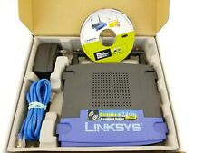 Linksys WRT54G 54 Mbps Wireless-G WiFi Router 802.11b 802.11g Wired Ethernet