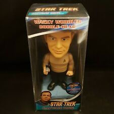 FUNKO STAR TREK CAPTAIN KIRK CHASE PIECE WACKY WOBBLER BOBBLE HEAD + PROTECTOR