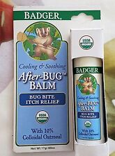 Badger Company, Organic After-Bug, Itch Relief Balm 17 g